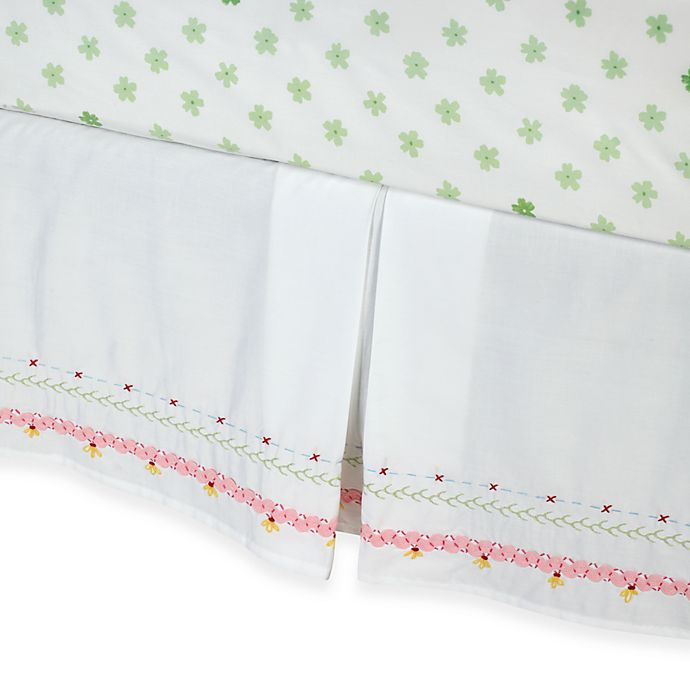 Alternate image 1 for Whistle & Wink™ Butterly Party Twin Bed Skirt