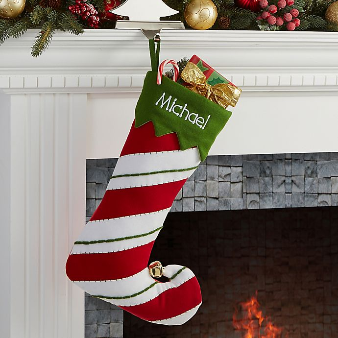 5196ab507 Jolly Jester Embroidered Christmas Stocking