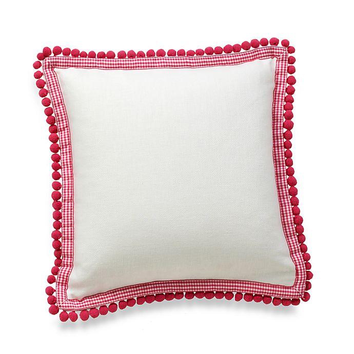 Alternate image 1 for Whistle & Wink™ Butterly Party 12-Inch Square Throw Pillow