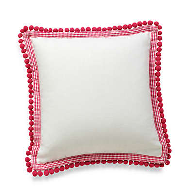 Whistle & Wink™ Butterly Party 12-Inch Square Throw Pillow
