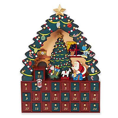 Kurt Adler Christmas Tree 24-Piece Advent Calendar