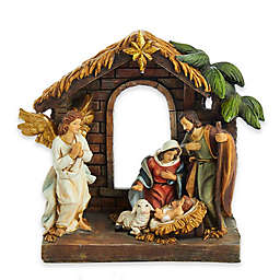 Kurt Adler 9-Inch Painted Holy Family Tablepiece Set