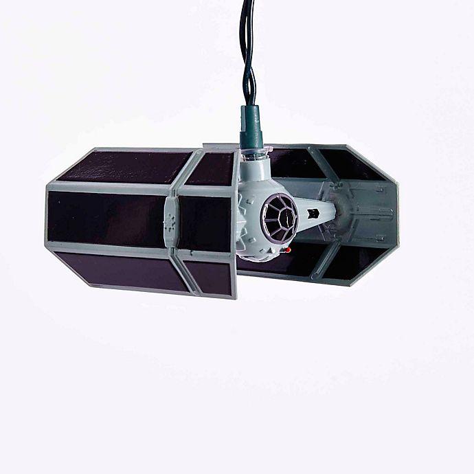 Alternate image 1 for Kurt Adler 10-Light Star Wars™ TIE Fighter Light Set