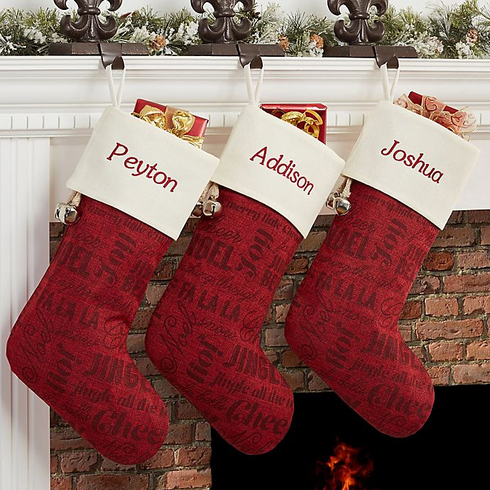 Alternate image 1 for Winter Melody Christmas Stocking