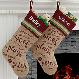 Merry Paws Christmas Stocking