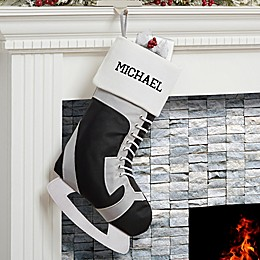 Hockey Skate Christmas Stocking