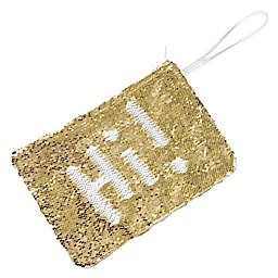 Morgan Home 2-Way Sequin Swimsuit Sack in White/Gold