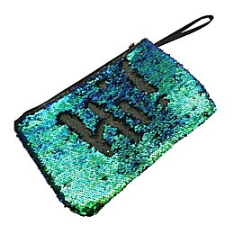 Morgan Home 2-Way Sequin Swimsuit Sack in Green/Black