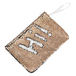 Morgan Home 2-Way Sequin Swimsuit Sack in Rose Gold/White