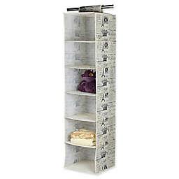 Home Basics® Paris 6-Shelf Hanging Closet Organizer