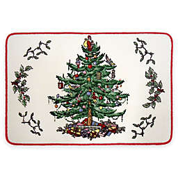 Avanti Spode Tree Bath Rug  in Red
