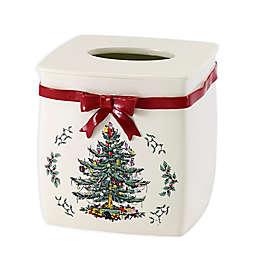 Avanti Spode Tree Boutique Tissue Box Cover in Red