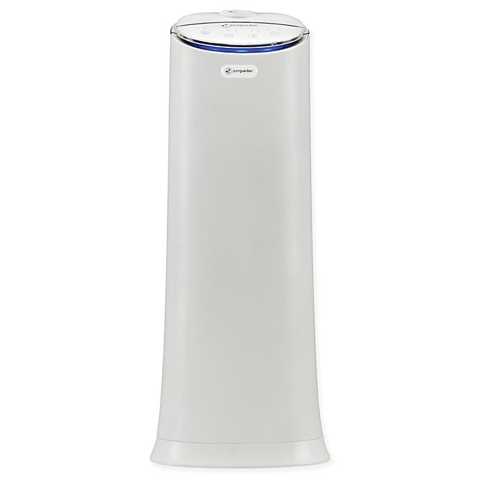 Alternate image 1 for PureGuardian® 100-Hour Ultrasonic Warm and Cool Mist Tower Humidifier with Aroma Tray