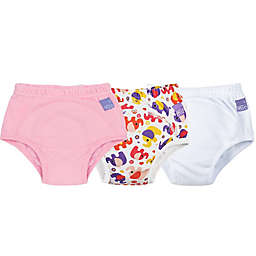 Bambino Mio® 3-Pack Elephant Potty Training Pants in Pink