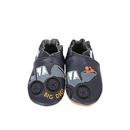 Robeez® Soft Sole Big Dig Shoe in Navy