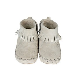 Robeez® Soft Soles™ Cozy Ankle Moccasins in Grey