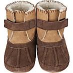 Robeez® Soft Soles™ Size 12-18M Galway Cozy Bootie in Brown