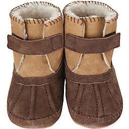 Robeez® Soft Soles™ Galway Cozy Bootie in Brown