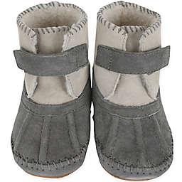 Robeez® Soft Soles™ Galway Cozy Bootie in Grey
