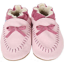 Robeez® Soft Soles™ Cozy Moccasin in Pink
