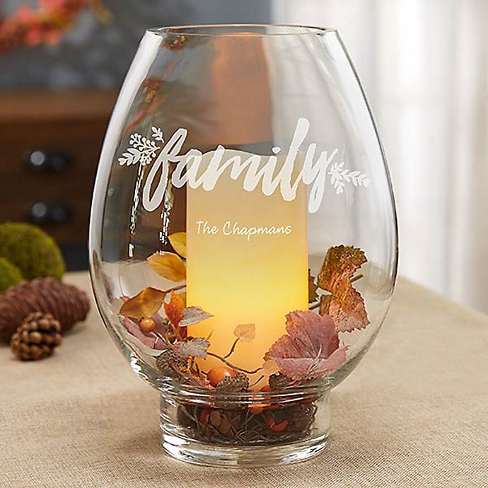 Alternate image 1 for Cozy Home Glass Hurricane Holder