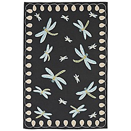 Liora Manne Dragonfly Indoor/Outdoor Rug