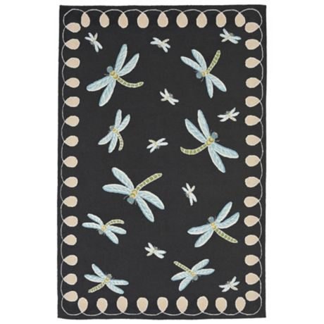 Liora Manne Dragonfly Indoor Outdoor Rug Bed Bath Amp Beyond