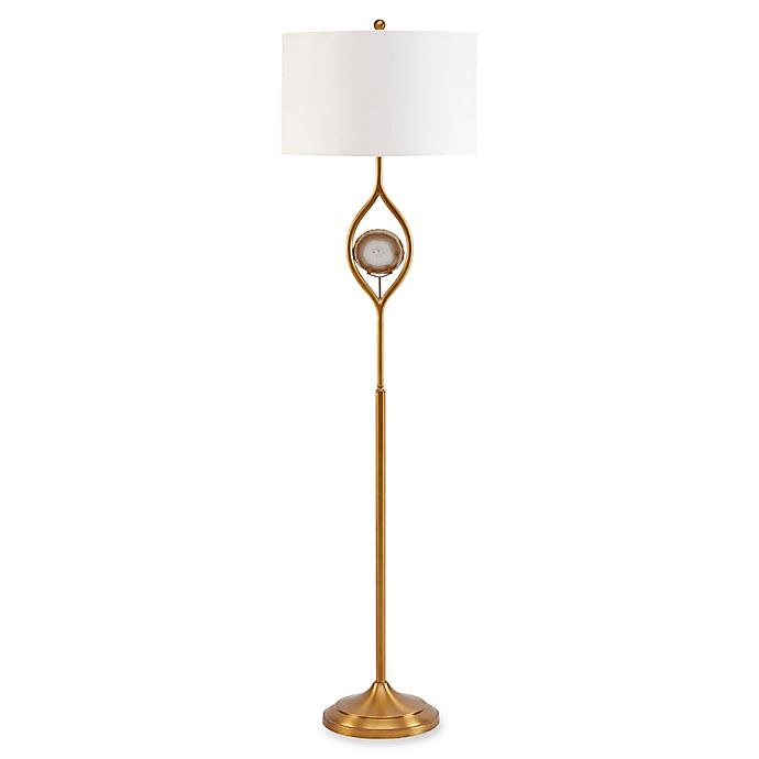 Alternate image 1 for Madison Park Carla Floor Lamp in Gold