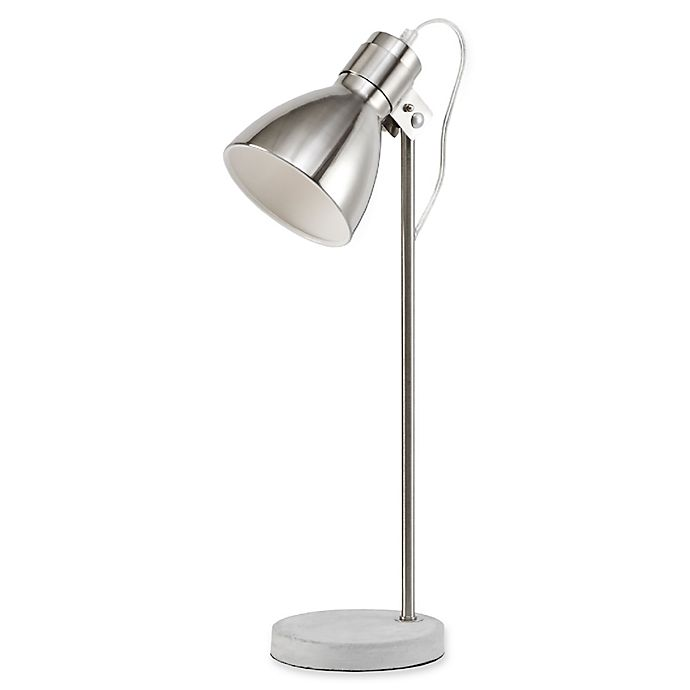 Alternate image 1 for Urban Habitat Largo Table Lamp in Silver with CFL Bulb