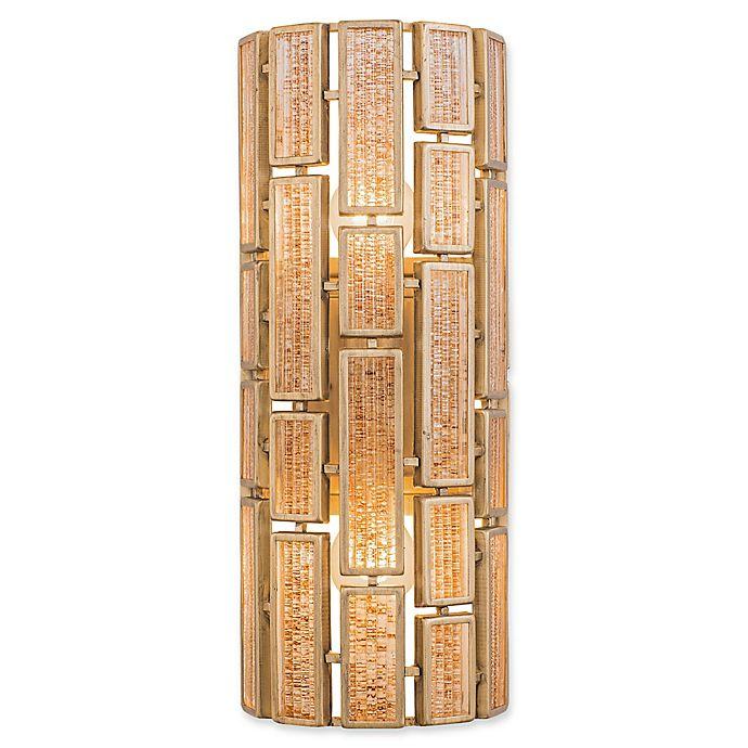 Alternate image 1 for Varaluz® Harlowe 2-Light Wall Sconce in Havana Gold