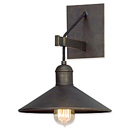 Troy Lighting McCoy 1-Light Wall Sconce in Vintage Bronze