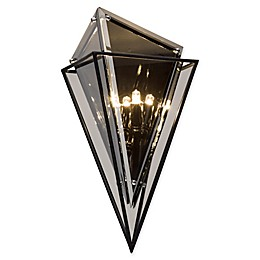 Troy Lighting Epic 2-Light Wall Sconce in Forged Iron
