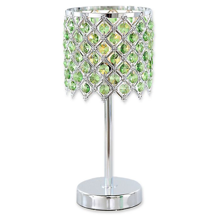 Alternate image 1 for River of Goods Crystal Glam Table Lamp