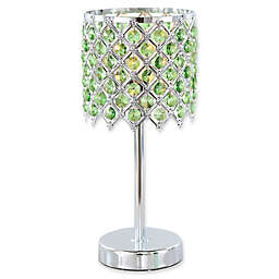 River of Goods Crystal Glam Table Lamp