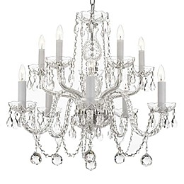 Gallery 10-Light Ceiling Mount 40MM Crystal Ball Chandelier