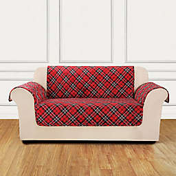 Sure Fit® Holiday Loveseat Cover