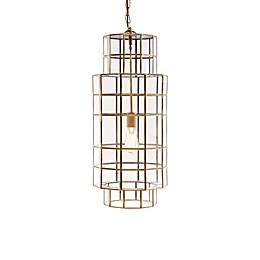 Madison Park Aberdeen 1-Light Chandelier in Bronze