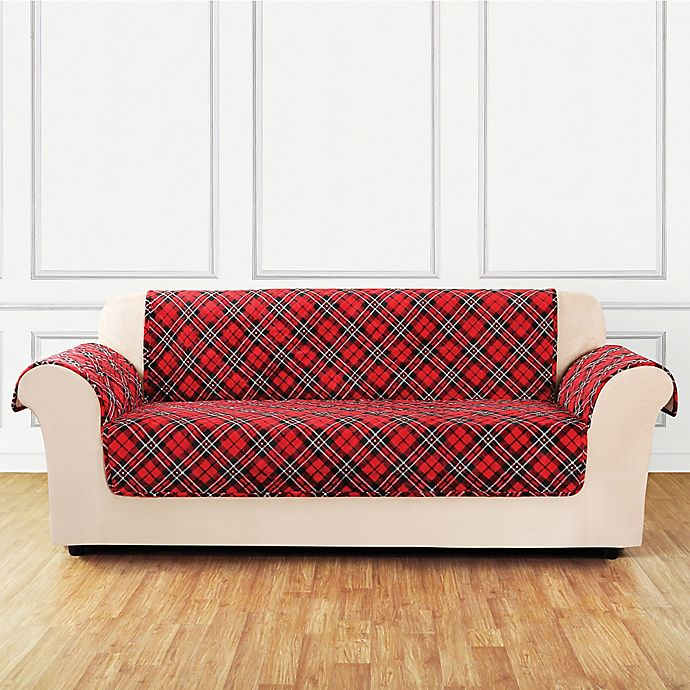 Sure Fit® Holiday Sofa Cover