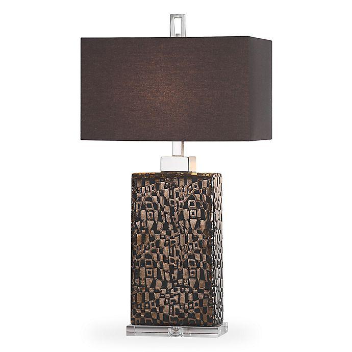 Alternate image 1 for Uttermost Olavo Table Lamp in Dark Bronze