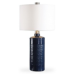 Uttermost Thalia Table Lamp in Royal Blue
