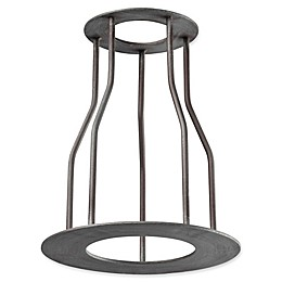 ELK Lighting Iron Pipe Optional Cage Shade in Weathered Zinc