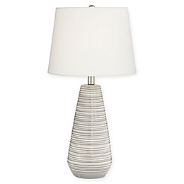 Pacific Coast® Lighting Sully Table Lamp in Grey/Cream