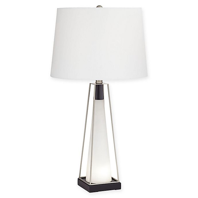 Pacific Coast Lighting Nina Table Lamp In White Bed Bath