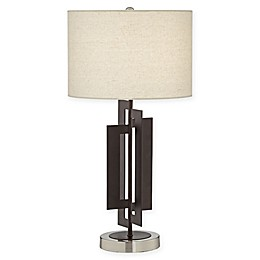 Pacific Coast® Lighting Deville Table Lamp in Bronze