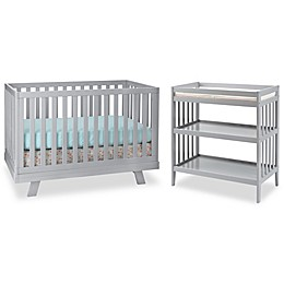 Westwood Design Reese Nursery Furniture Collection in Fog Grey