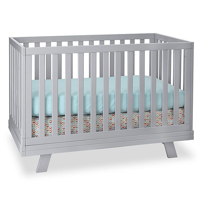 Westwood Design Reese 3 In 1 Convertible Crib In Fog Grey Bed Bath