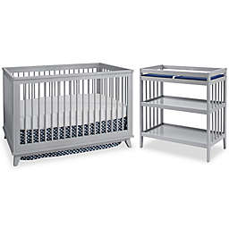 Westwood Design Echo Nursery Furniture Collection in Fog Grey
