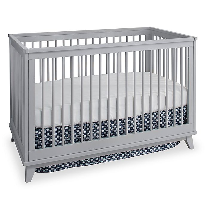 Alternate image 1 for Westwood Design Echo 3-in-1 Convertible Crib in Fog Grey