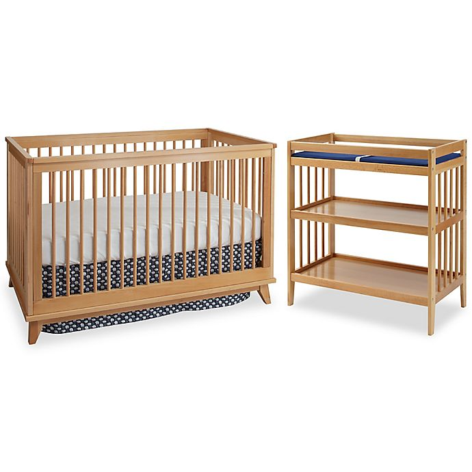 Westwood Design Echo Nursery Furniture Collection In Natural Bed