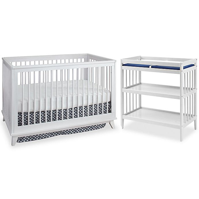 Alternate image 1 for Westwood Design Echo Nursery Furniture Collection in White